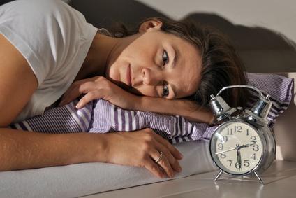 Frau Schlafstörung